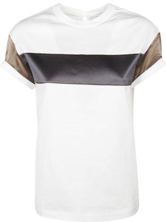 Brunello Cucinelli Color-block T-shirt