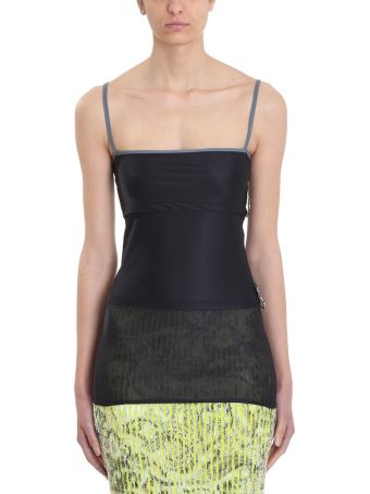 Y/Project Black Layered Tank Top