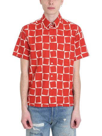 Levi's Vintage Clothing Red Cotton Shirt