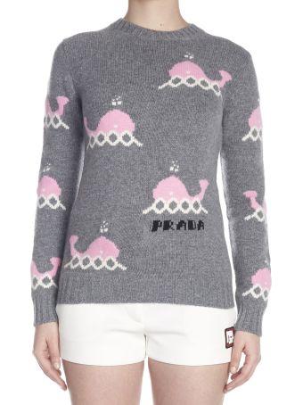 Prada 'whales' Sweater