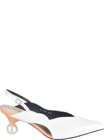 Yuul Yie Pointed Toe Ankle Strap Pumps