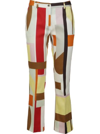 PT01 Printed Slim Fit Trousers