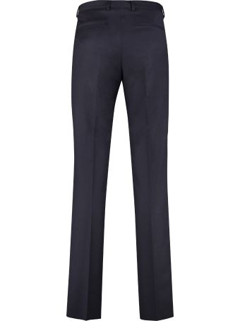 Z Zegna Wool Tailored Trousers