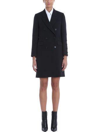 Neil Barrett Black Wool Blend Coat