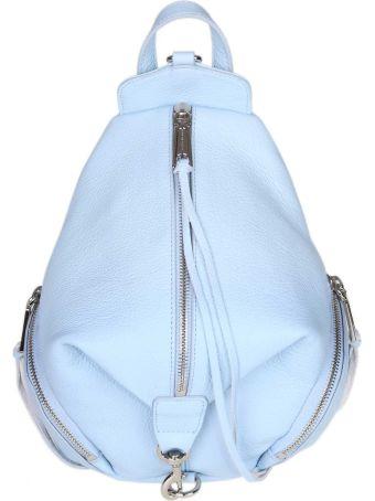 Rebecca Minkoff Julian Backpack In Light Blue Leather