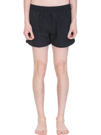 Ami Alexandre Mattiussi Black Polyamide Beachwear