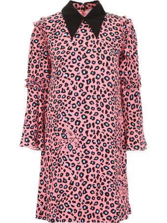 Vivetta Leopard Printed Midi Dress