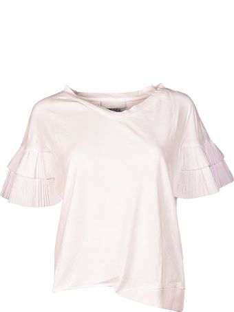 Brand Unique Ruffled Sleeves Top