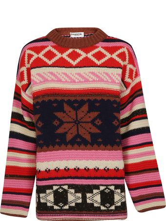 Essentiel Snowflake Pattern Sweater