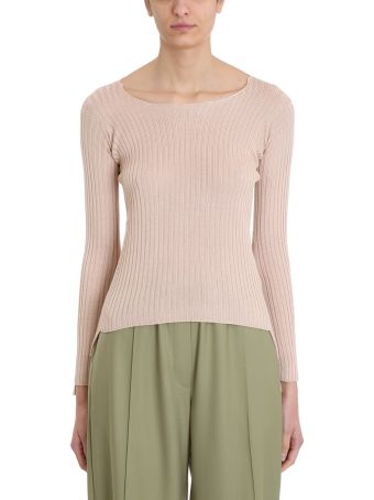 Maison Flaneur Knit Powder Silk Sweater
