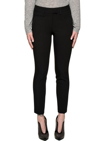 Dondup Black Perfect Trousers