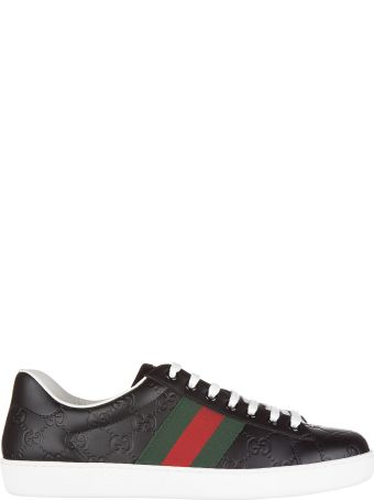 Gucci  Shoes Leather Trainers Sneakers Signature