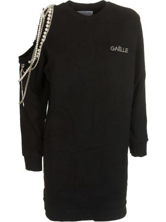 Gaelle Bonheur Off-shoulder Embellished T-shirt