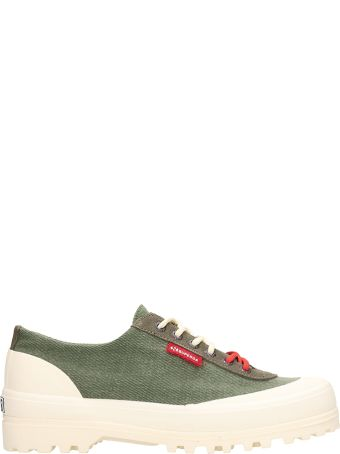 Superga Green Fabric Superga X Paura Alpina Sneakers