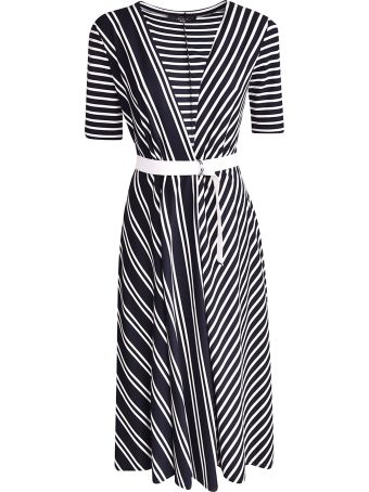 Weekend Max Mara Stripe Patterned Dress