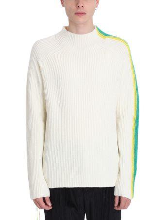 45ec497b7eb4 Danilo Paura White Wool Sweater
