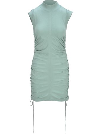 T by Alexander Wang Jersey Ruched Dress