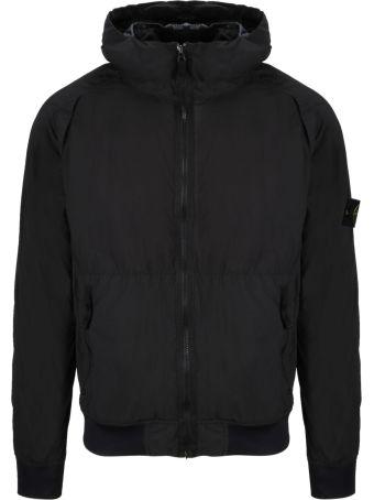 Stone Island Zip Hooded Jacket