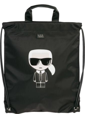 Karl Lagerfeld  Rucksack Backpack Travel K/ikonik