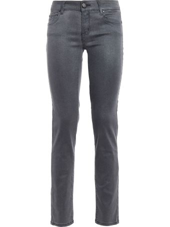 Jacob Cohen Jocelyn Slim Fit Coated Jeans