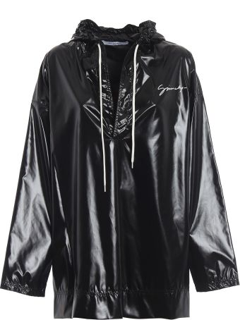 Givenchy Oversized High Shine Hooded Top