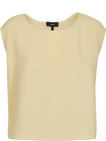 Theory Cady Straight-fit Top