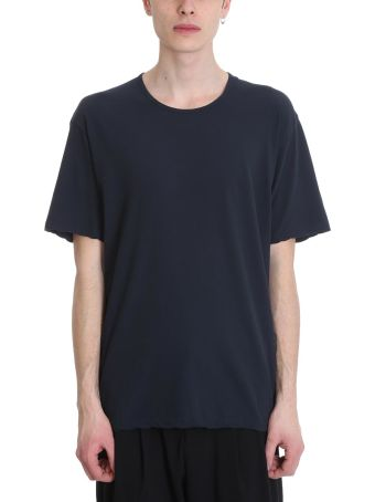 Attachment Blue Cotton T-shirt