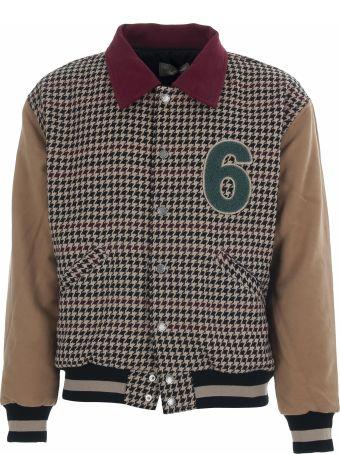 Drôle de Monsieur Drole De Monsieur Moleskin Ddm Varsity Jacket