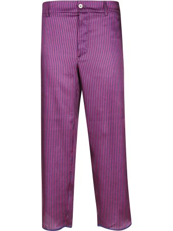 Jejia Claire Striped Trousers