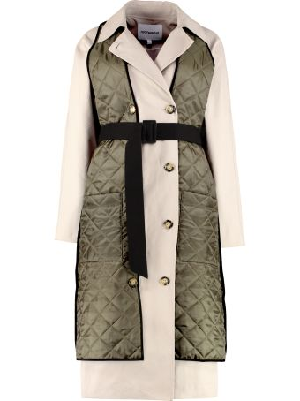 H2OFagerholt Lolclon Double-breasted Trench Coat