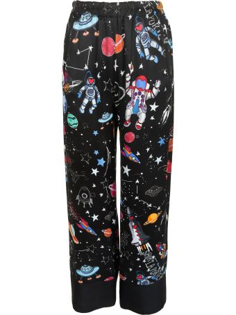 Shirt a Porter Printed Trousers