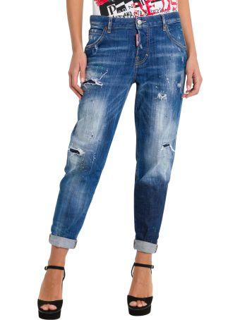 Dsquared2 Hockney Distressed Jeans