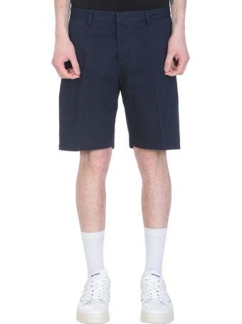Ami Alexandre Mattiussi Blue Cotton Shorts