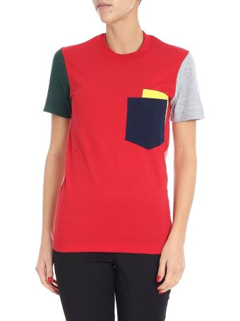 Cedric Charlier Color Block T-shirt