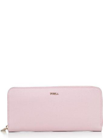 Furla Embellished Zipped Around Wallet