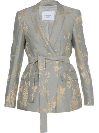 Dondup Linen And Silk Jacket