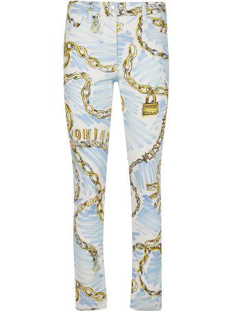 Moschino Chain Print Trousers