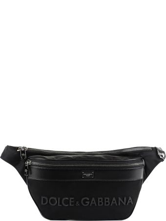 Dolce & Gabbana Baby Carrier With Leather Trim