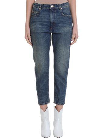 Isabel Marant Étoile Nea Blue Denim Jeans