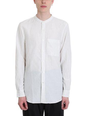 Attachment White Cotton Shirt