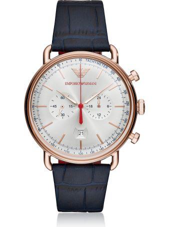 Emporio Armani Ar11123 Aviator Men's Watch