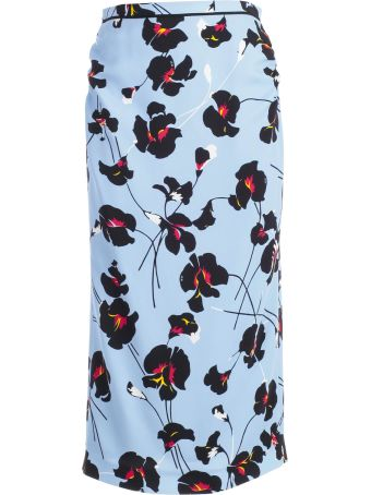 N.21 Floral Print Skirt