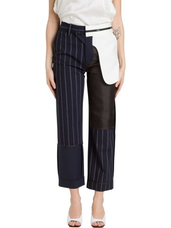MONSE Inside-out Pinstripeds Trousers