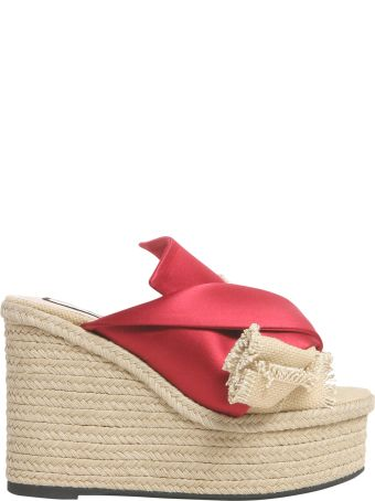 N.21 Mule Sandals With Satin Bow