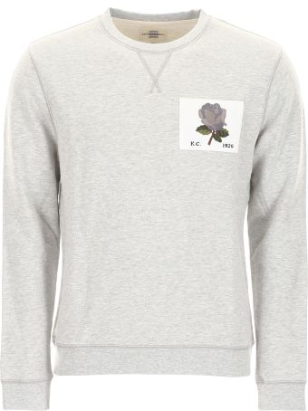 Kent & Curwen Sweatshirt With Roses Patch