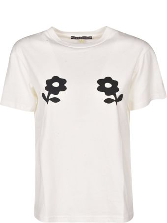 ALEXACHUNG Alexa Chung Flower Print T-shirt