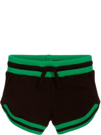 Stella McCartney Kids Black Shorts For Girl