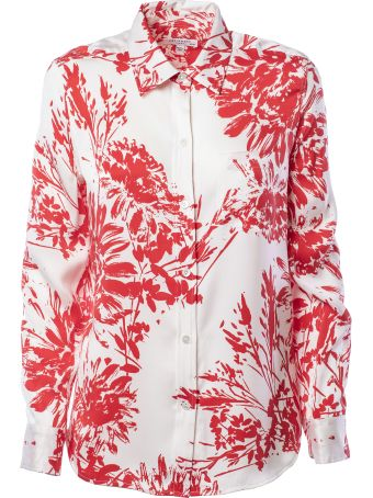 Equipment Brett Floral Print Shirt