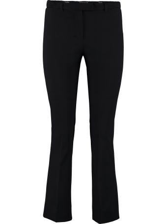 Max Mara Studio Pevera Cady Straight-leg Trousers