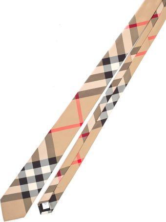 Burberry Tie Check Silk
